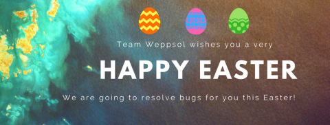 Weppsol gets you an Eggceptional Easter Offer!