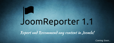 Curious to know what's lined up for JoomReporter 1.1?
