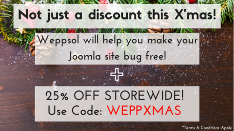 Not just a Christmas Discount!